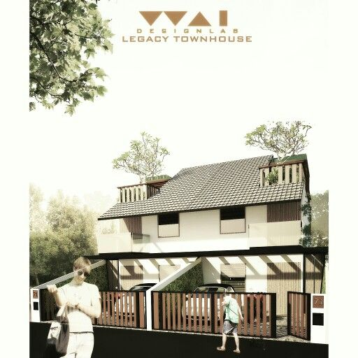 L E G A C Y  T O W N H O U S E  Phase : Proposal Site : Palembang, Indonesia  There have been too many badly designed so called 'townhouse' built in Palembang.  Falsely called townhouse just to raise the marketing attractive point of the real estate.  In this proposal to my client, the townhouse is designed to be humbly simple and functional.  Again the design process took human as the center of the approach, all of that is to make sure the occupants will feel healthy and comfortable.