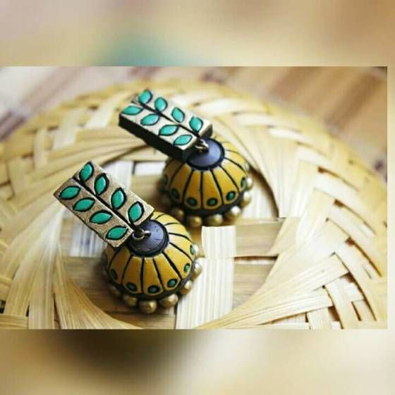 Shopo.in : Buy Terracotta Earring Jhumka Jhumki Offer online at best price in New Delhi, India