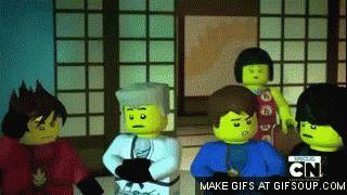 Ninja: We'll be ready Nya: LORD GARMADON IS BACK Ninja: *Scramble* XD