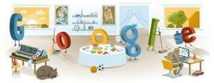 Google celebra el año nuevo con un doodle de resaca de la fiesta de Nochevieja