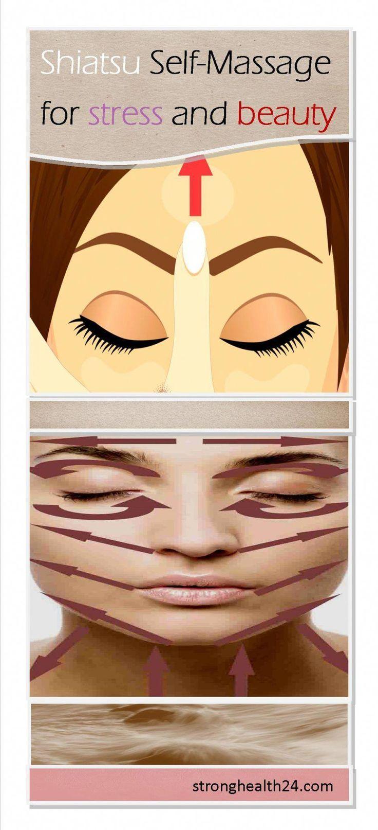 Shiatsu Self-Massage Technique #shiatsu #selfmastery # ...