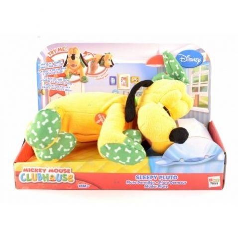 Mickey Mouse - Pluto plyšový spící se zvukem