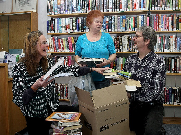 #ygk donors send books to stock libraries in Africa