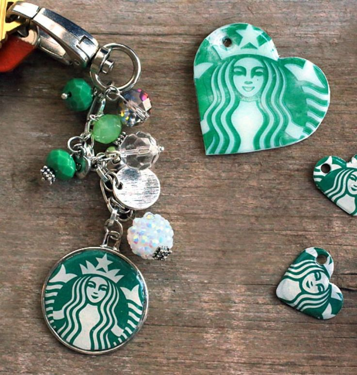 Everyone will wonder where Mom got her coffee shop keychain. It's a fashionable yet practical gift that's unique, affordable and super easy to make.