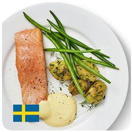 IKEAレストラン サーモンフィレ