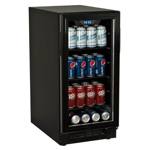 BBR900BL - Koldfront 80 Can Built-In Beverage Cooler - Black