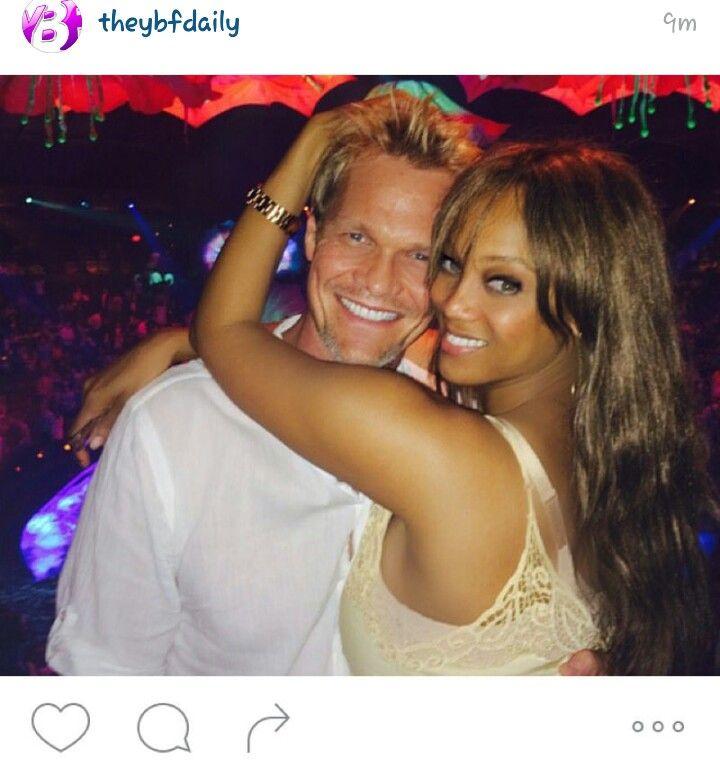 Tyra Banks Family: Tyra Banks And Her Man