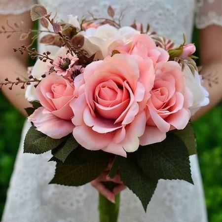 Sleeping Beauty Wedding Bouquet Fantastical Weddings Bouquets fantasticalweddings.com Pink Rose Wedding Bouquet | cloneflower.com