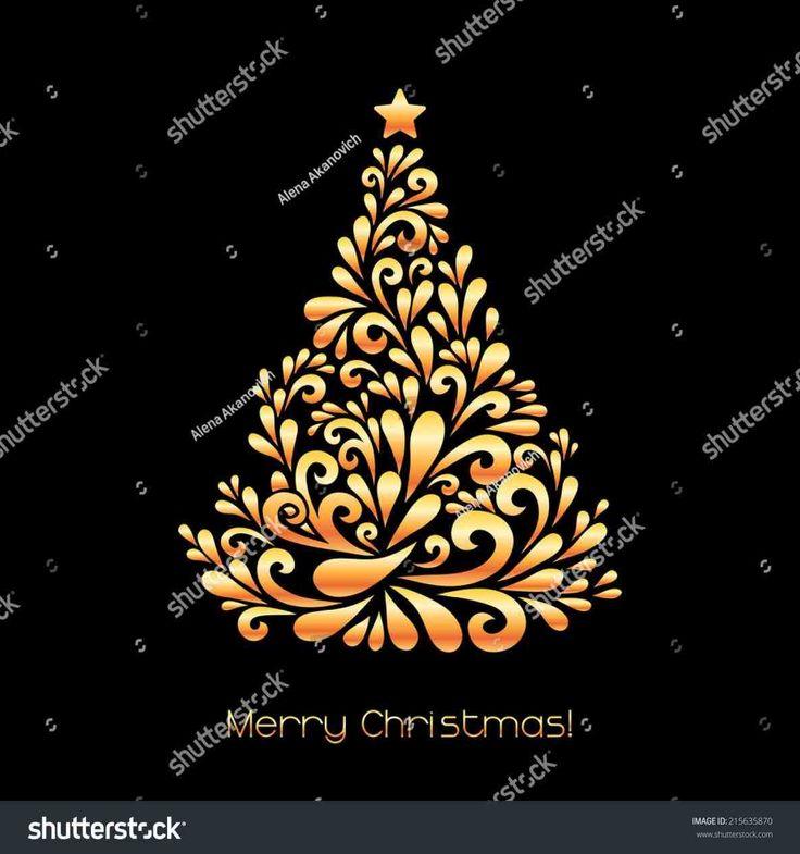 New gold christmas ornaments vector at temasistemi.net