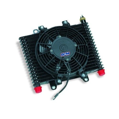 B&M 70297 Hi-Tek Transmission Cooling System, Black
