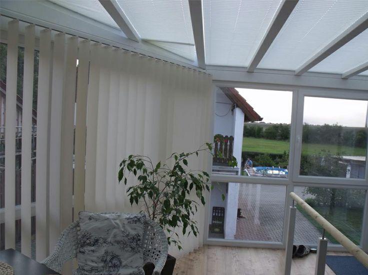 sichtschutz und sonnenschutz f r den wintergarten mit. Black Bedroom Furniture Sets. Home Design Ideas