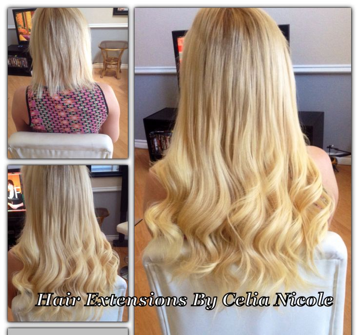 9 Best Blonde Hair Extensions Images By Hair Extensions By Celia