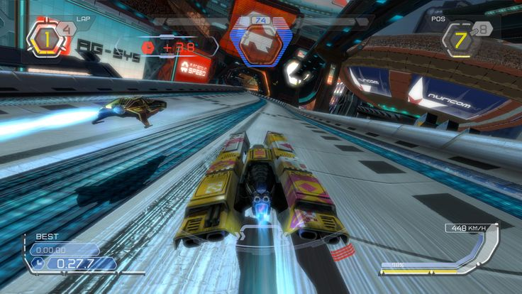 Wipeout 2048 game wallpaper