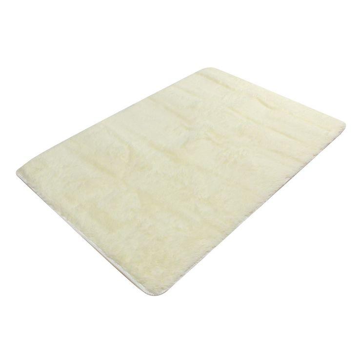 80x120cm Velvet Carpet Non-slip Bedroom Yoga Floor Mat Rug