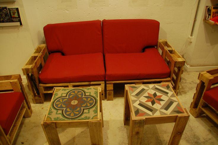 Muebles hechos con Pallets/Tarimas..!!