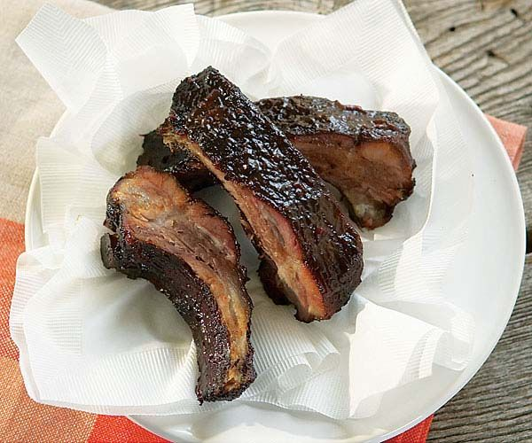 Hoisin Barbecued Ribs (Charcoal Grill Version) | Recipe