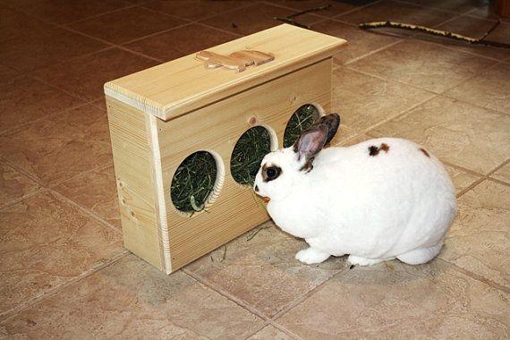 Slim Fit Bunny Rabbit Hay Feeder