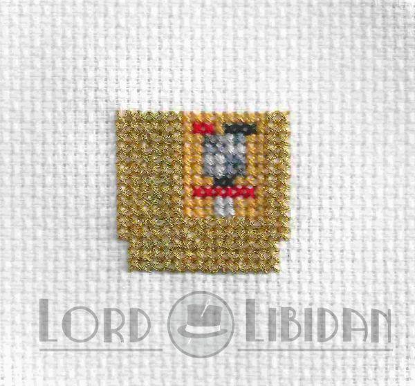 Look at the sparkly @dmccreativewrld 24 carat golden thread! #zelda #golden #crossstitch @lordlibidan  https://lordlibidan.com/golden-zelda-cartridge-cross-stitch/pic.twitter.com/EhnrwLgHok