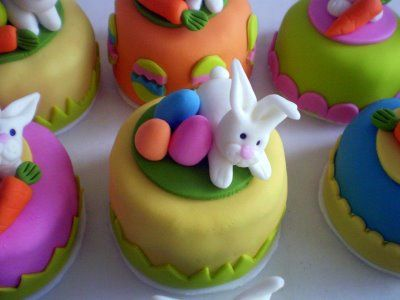 MINI BOLOS DE PASCOA: Minis Cakes, Cupcake Pascoa, Bolos Minis Bolos, Minis Tortas, Decorated Cupcakes, Nails, Decorated Cakes