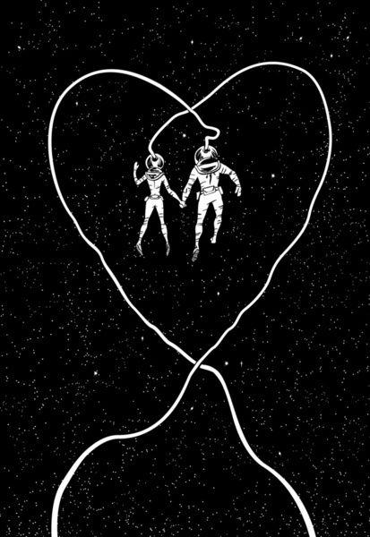 Love Space Art Print