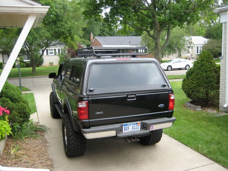 Camper Shell Roof Rack   Ford Ranger Forum