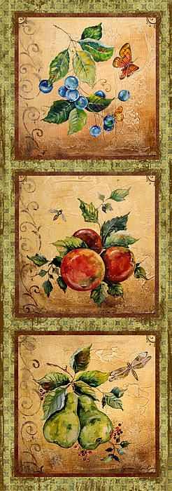 I uploaded new artwork to fineartamerica.com! - 'Fruit Trio' - http://fineartamerica.com/featured/fruit-trio-jean-plout.html via @fineartamerica