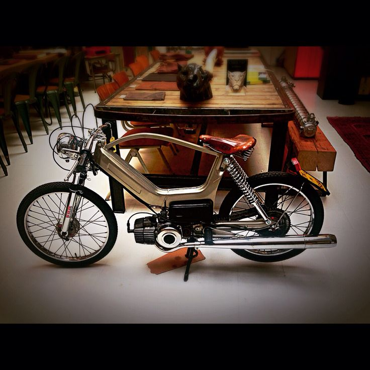 Custom built Puch moped By Pieter Kout