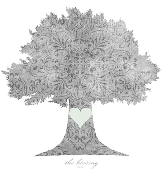 The Kissing Tree...Very sweet application x