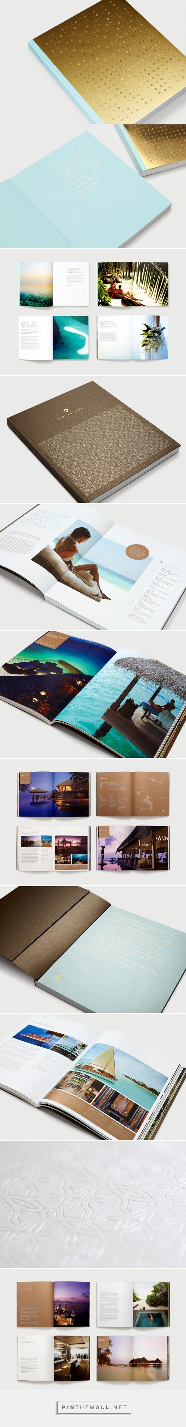 INARIA | Luxury brand design consultants | Pure Escapes brand identity - created via https://pinthemall.net