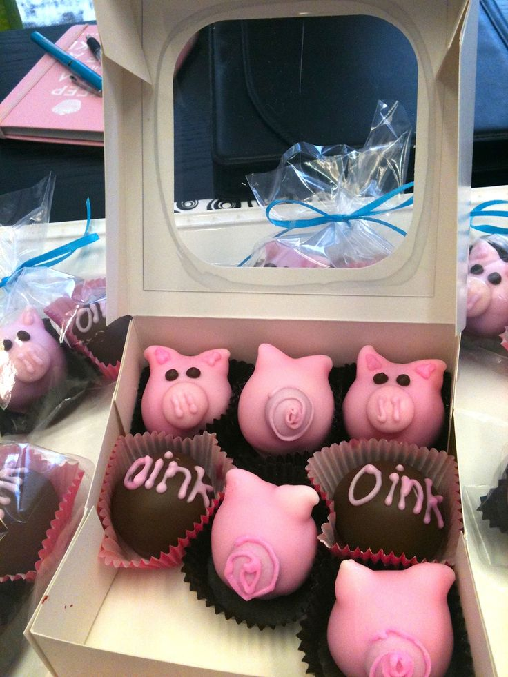 cake balls..oink oink! The Goods Grilled Cheeses and