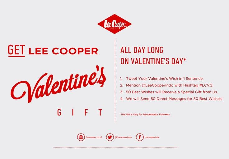 Lee Cooper Valentine's Gift