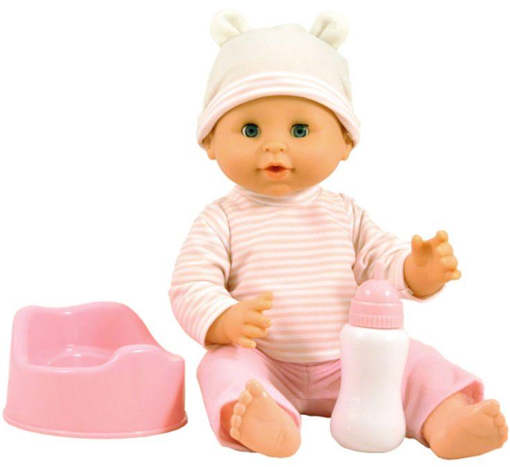 Skrållan Docka Äta-Väta Sara är en söt docka med hård kropp som precis som en riktig bebis kan dricka och kissa! När du köper dockan Sara medföljer både kläder, nappflaska och en liten rosa potta. Sara är klädd i en söt mössa, tröja samt byxor.<br><br>Skrållan Docka Äta-Väta Sara har många andra tillbehör som går att köpa till.<br><br>Rekommenderad ålder Från 3 år.<br><br>Mått: 36 cm.<br><br>Material: Plast, textil.