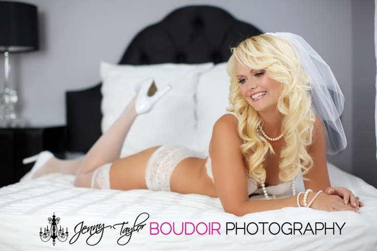 Have you ever thought about doing a bridal boudoir photo shoot for your groom?
