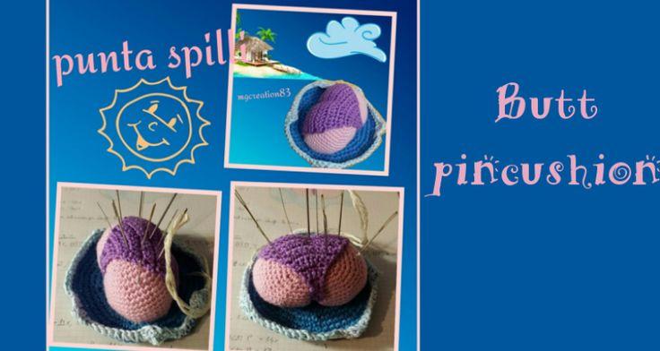 Crochet time with Giulia -  puntaspilli uncinetto - crochet pincushion