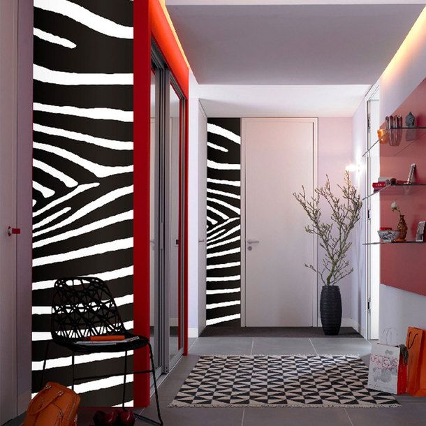 Best Zebra Love Images On Pinterest Zebra Print - Zebra stripe wall decals
