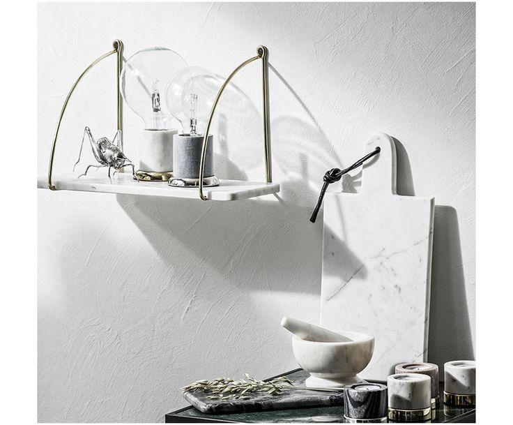 AFFILIATELINK | Porte Marmor Wandregal, skandinavisch, Design, minimalistisch, …   – Küche | DIY, Deko und Einrichtung