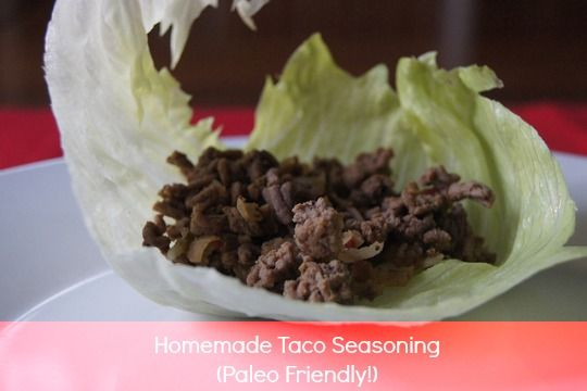 Taco Seasoning - how to make your own taco seasoning from scratch.
