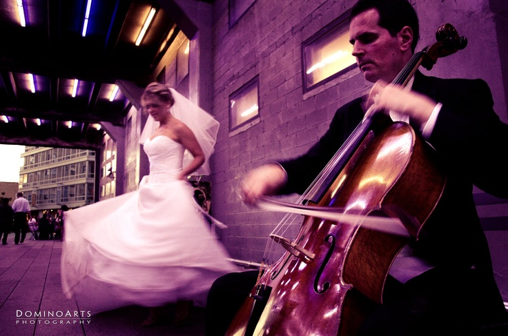 Let's dance the night away! #Wedding #portrait of the #bride and the #groom at #New #York City by #DominoArts #Photography (www.DominoArts.com)