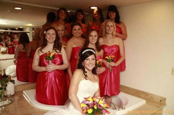 oh yeah, i've got this great idea for my bridal party.......