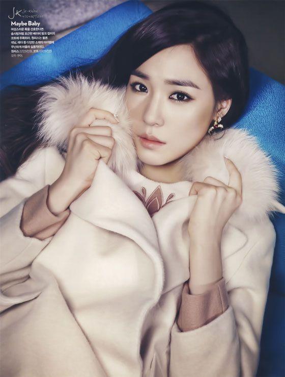 Tiffany Hwang Korean Cosmopolitan Magazine