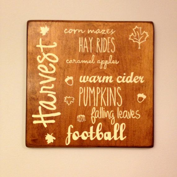Hand painted wood sign hand sanded for rustic by CraftsUnderTheSun, $20.00