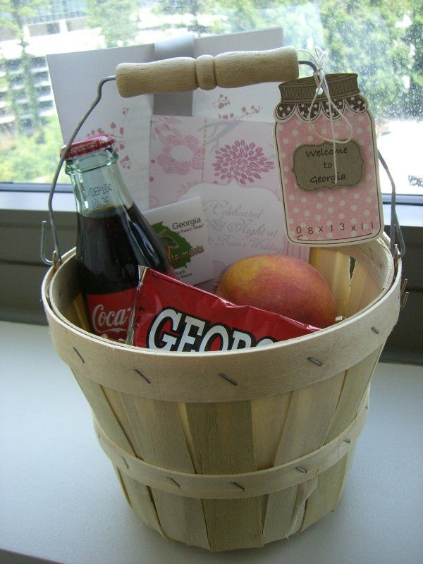 Georgia Wedding Welcome Basket!