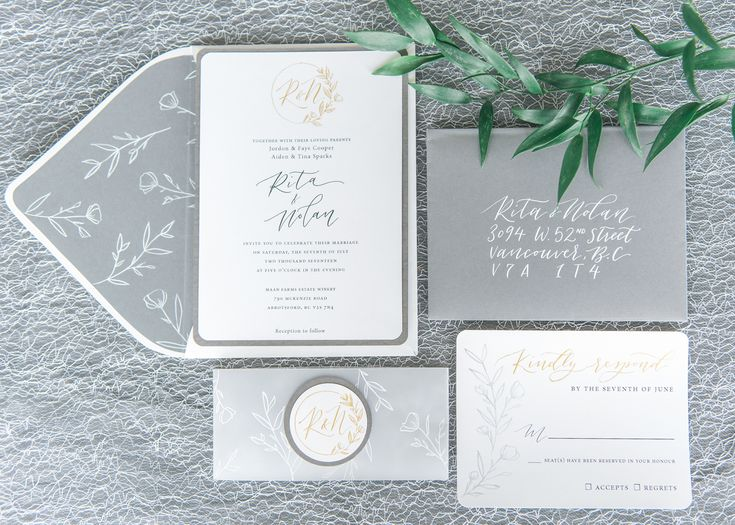 Wedding stationery by Rintzy Lee Designs. Photo credit to L'estelle Photography. As seen on Real Weddings.
