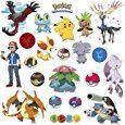 Amazon.com: Nursery Decor Popular Characters Pokemon Xy Peel and Stick Wall Decal: Baby