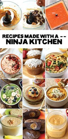 Looking for a new blender, food processor, or both? You need a Ninja Kitchen! A two in one small appliance that doubles as a blender and food processor.
