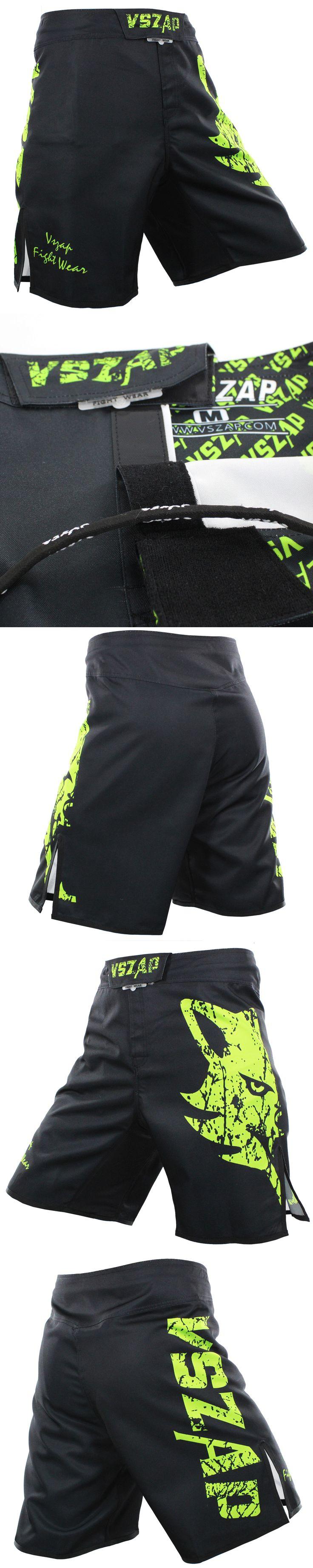 VSZAP GIANT mens shorts MMA muay Thai shorts Thick fabrics Elastic crotch T hook and loop fastener Activities Fashion shorts
