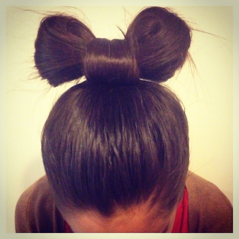 Awesome hair bun :)