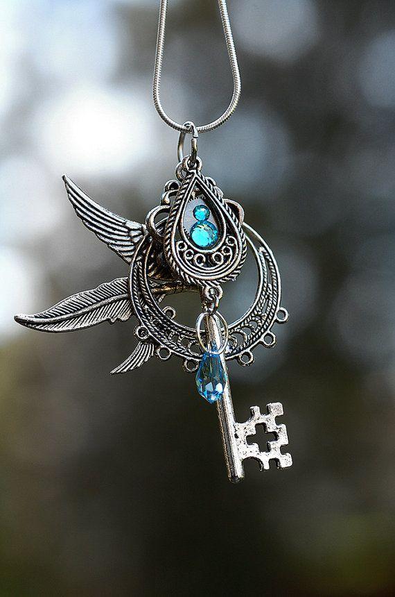 Wind Chaser Key Necklace by KeypersCove on Etsy, $35.00