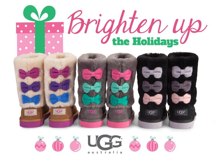Kids boots!!! So Cute with that splash of color every little girl will have these on there list!