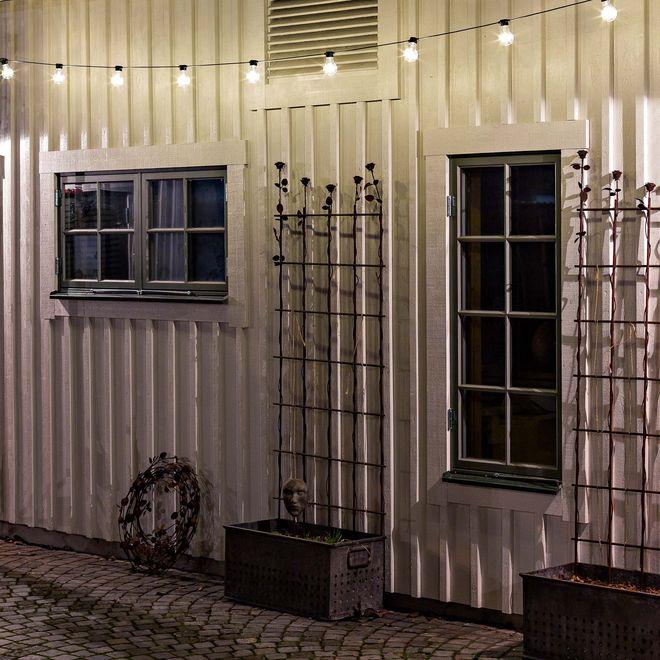 Big Bulbs – Clear 20 Bulb LED Outdoor Light Set